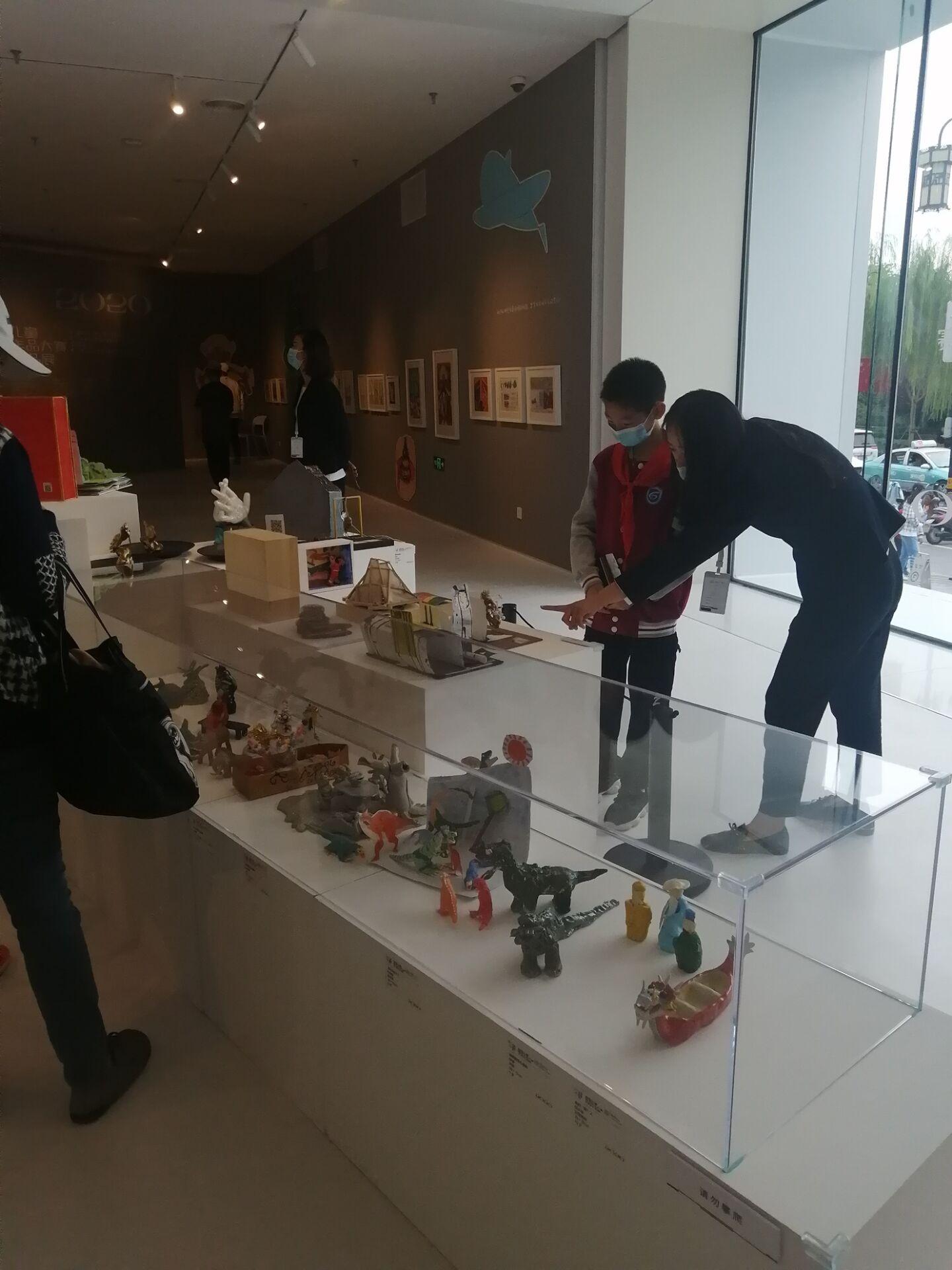 参观 2020央美鲁信*全国儿童美术作品大赛优秀作品展