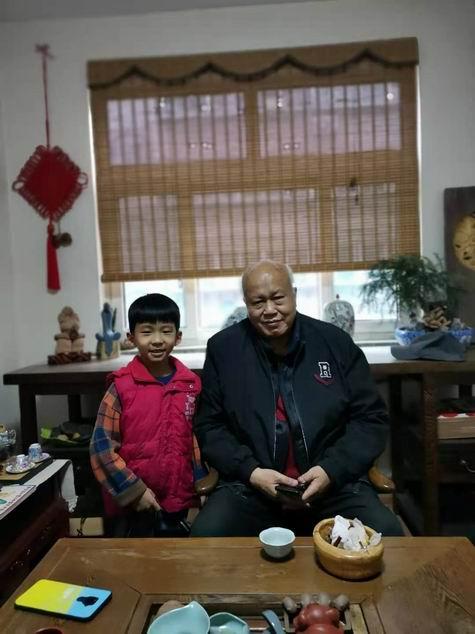 2020.11.14 丘程光先生莅临墨茗轩书画教学班